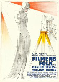 """Show People (MGM, 1929). Danish Poster (23.5"""" X 32"""")"""