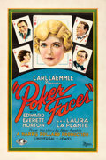 """Movie Posters:Comedy, Poker Faces (Universal, 1926). One Sheet (27.25"""" X 41"""") Style B....."""