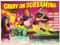 "Movie Posters:Comedy, Carry On Screaming! (Sigma III Corp., 1966). British Quad (30"" X40"").. ..."