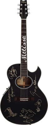 "Allman Brothers Signed Limited Edition Washburn ""Melissa"" Guitar (1995)"