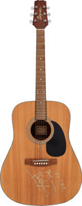 Musical Instruments:Acoustic Guitars, Bob Dylan Signed Segovia D-70 Dreadnought Acoustic Guitar....
