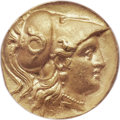 Ancients:Greek, Ancients: MACEDONIAN KINGDOM. Alexander III the Great (336-323 BC). AV stater (18mm, 8.52 gm, 11h). ANACS AU 53....