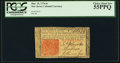 Colonial Notes:New Jersey, New Jersey March 25, 1776 6s PCGS Choice About New 55PPQ.. ...