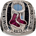 Baseball Collectibles:Others, 2013 Boston Red Sox World Series Championship Ring Presented toPitcher Daniel Bard....