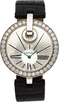 Cartier Lady's Diamond, White Gold Captive de Cartier Watch