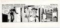 Original Comic Art:Comic Strip Art, Fred Kida The Amazing Spider-Man Daily dated 7-29-82(Register and Tribune Syndicate, 1982). ...