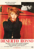 "Movie Posters:Foreign, The Red Desert (Cineriz, 1964). Italian 4 - Fogli (54.25"" X 78"")....."