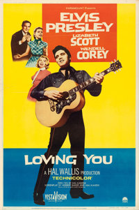 "Loving You (Paramount, 1957). Poster (40"" X 60"") Style Y"