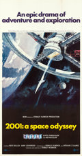 "Movie Posters:Science Fiction, 2001: A Space Odyssey (MGM, 1968). Cinerama Three Sheet (41.5"" X 79"") Robert McCall Artwork.. ..."