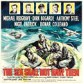 """Movie Posters:War, The Sea Shall Not Have Them (Rank, 1954). British Six Sheet (77"""" X77.75"""") Eric Pulford Artwork.. ..."""