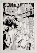 Original Comic Art:Splash Pages, Peter Krause and Keith Williams Adventures of Superman #492Splash Page 3 Original Art (DC, 1992)....