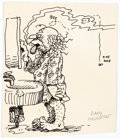 Original Comic Art:Sketches, Gary Hallgren Halitosis Original Art (c. 1970s)....