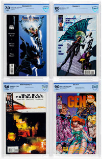 Image/Wildstorm Comics CBCS-Graded Group of 4 (Image/DC/Wildstorm, 1994-2002) CBCS.... (Total: 4 Comic Books)