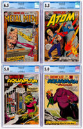 Silver Age (1956-1969):Miscellaneous, Showcase CGC-Graded Group of 4 (DC, 1961-62).... (Total: 4 ComicBooks)