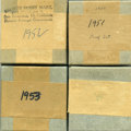 Proof Sets, Lot of Four 1951-1954 Proof Sets, Uncertified. Includes 20 coins, comprised of four consecutively dated five-piece proof set... (Total: 20 coins)
