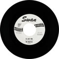 """Music Memorabilia:Recordings, Beatles """"I'll Get You"""" One-Sided US White Label Promo 45 (Swan4152, 1964)...."""