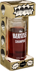 Music Memorabilia:Memorabilia, Beatles Shampoo Bottle in Original Package (Bronson Products, 1964)....