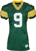 Football Collectibles:Uniforms, 1996 Jim McMahon Game Worn Green Bay Packers Jersey....