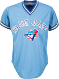 Baseball Collectibles:Uniforms, 1984 George Bell Game Worn Toronto Blue Jays Jersey. ...