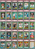 Football Cards:Sets, 1986 Topps Football Complete Set (396) - #3 on the PSA Registry -86% (Over 340 cards) are Gem MT! ...