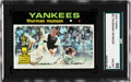 Baseball Cards:Singles (1970-Now), 1971 Topps Thurman Munson #5 SGC 88 NM/MT 8....