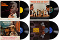 Music Memorabilia:Recordings, Elvis Presley Owned Group of Comedy LPs (Various, 1960s)....(Total: 4 )
