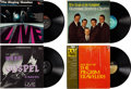 Music Memorabilia:Recordings, Elvis Presley Owned Group of Gospel LPs (Various, 1962-70).... (Total: 4 )