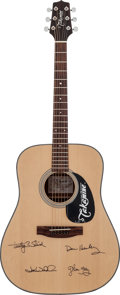 Musical Instruments:Acoustic Guitars, Eagles Signed Takamine G320 Acoustic Guitar....