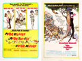 Memorabilia:Poster, Frank Frazetta - Movie Posters Group of 2 (United Artists,1966-71).... (Total: 2 Items)