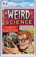 Golden Age (1938-1955):Science Fiction, Weird Science #12 (#1) Gaines File Pedigree 2/9 (EC, 1950) CGC NM-9.2 Off-white pages....
