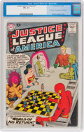 Silver Age (1956-1969):Superhero, Justice League of America #1 (DC, 1960) CGC FN+ 6.5....