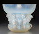 R. Lalique Opalescent Glass Naiades Vase Circa 1930. Wheel carved R LALIQUE FRANCE M p. 449, No. 1048