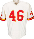 Football Collectibles:Uniforms, Early 1970's Jim Kearney Game Worn Kansas City Chiefs Jersey....