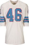 Football Collectibles:Uniforms, 1966-67 Houston Oilers Game Worn Jersey....