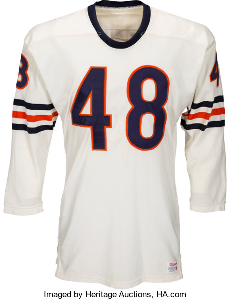 buy popular c22b1 66a7b 1970-72 Ron Smith Game Worn Chicago Bears Jersey ...