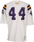 Football Collectibles:Uniforms, Early 1970's Leo Hayden/Chuck Foreman Game Worn & Signed Minnesota Vikings Jersey....