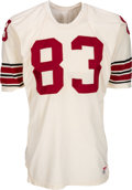 Football Collectibles:Uniforms, Mid 1970's Earl Thomas Game Issued St. Louis Cardinals Jersey....