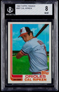 Baseball Cards:Singles (1970-Now), 1982 Topps Traded Cal Ripken Jr. #98T BGS NM-MT 8. ...