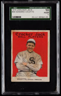 Baseball Cards:Singles (Pre-1930), 1915 Cracker Jack Edward Cicotte #94 SGC 10 Poor 1....