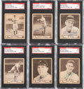 Baseball Cards:Lots, Signed 1940 Play Ball Baseball Card Collection (6) With Lefty Gomez& Red Ruffing. ...
