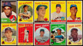 Baseball Cards:Lots, 1950's-1960's Topps Baseball Stars & Hall of Famers CardCollection (20). ...