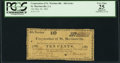 Obsoletes By State:Louisiana, St. Martinsville, LA- Corporation of St. Martinsville - 4th Series 10 Cents May 30, 1862. ...