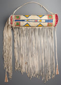 American Indian Art:Pipes, Tools, and Weapons, A Contemporary Sioux Bonnet Case...