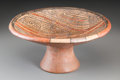 American Indian Art:Pottery, A Cocle Polychrome Pedestaled Bowl...