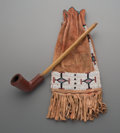 American Indian Art:Beadwork and Quillwork, Two Plains Items. ... (Total: 2 Items)