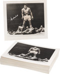 Boxing Collectibles:Autographs, 1993 Muhammad Ali Signed Limited Edition Photograph Lot of 90. ...(Total: 90 item)