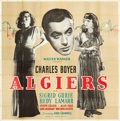 "Movie Posters:Adventure, Algiers (United Artists, 1938). Six Sheet (79.5"" X 80"").. ..."