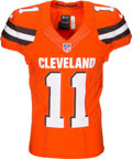 size 40 7e866 f868e 2016 Terrelle Pryor Game Worn Cleveland Browns Jersey ...