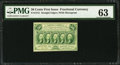 Fractional Currency:First Issue, Fr. 1312 50¢ First Issue PMG Choice Uncirculated 63.. ...