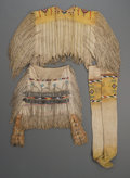 American Indian Art:Beadwork and Quillwork, An Apache Woman's Beaded Hide Ensemble. ... (Total: 4 Items)